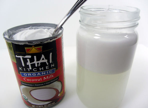 how to make coconut cream