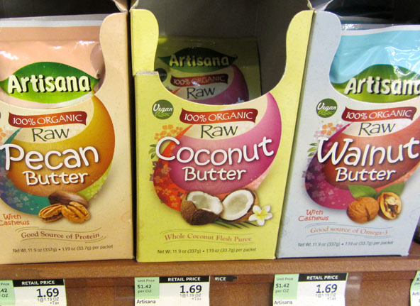 Coconut Butter Packets at Whole foods