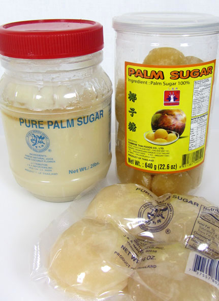 beware of coconut palm sugar from Asian stores