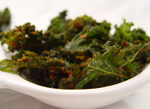 Wholetarian Kale Chips