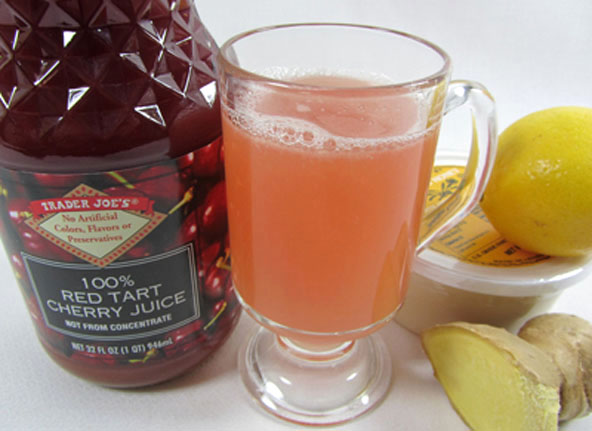 Lemon Ginger Tart Cherry Tea Recipe