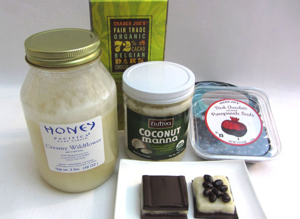 Ingredients for Manna Candy Recipe