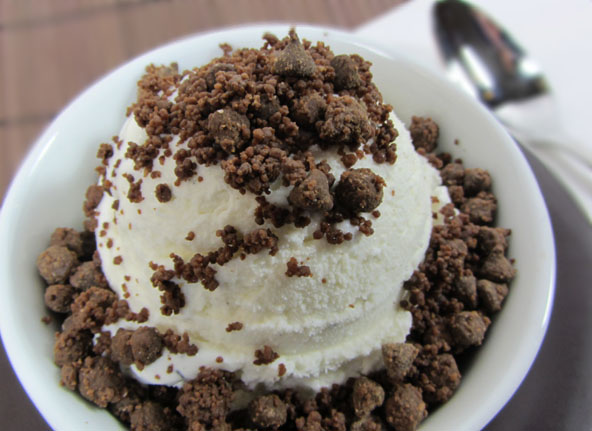 Healthy Almond Roca Ice Cream Topping Recipe