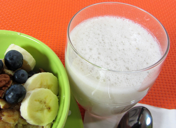Instant Banana Nut Milk Recipe