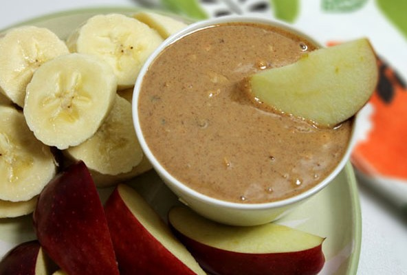 Almond Coconut Butter Dip