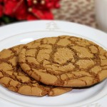 Dad's Molasses Gingerbread Cookies