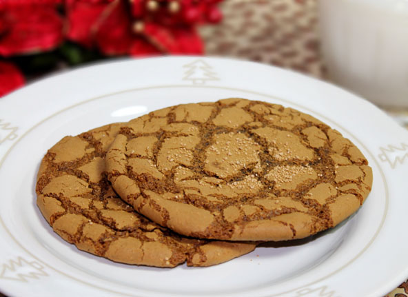 Whole Food Molasses Cookie recipe