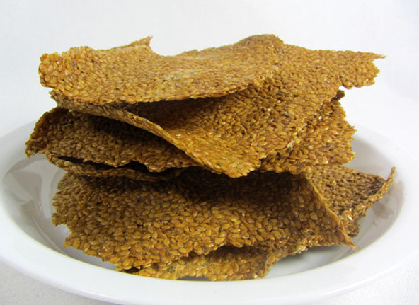 Veggie Flax Cracker Recipe Image