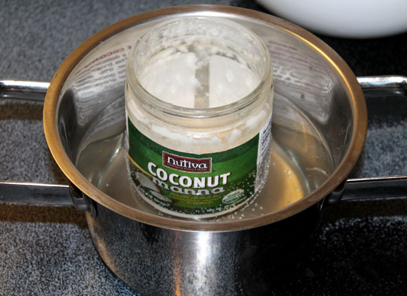 How to warm up coconut butter