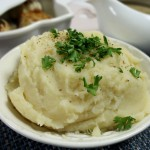 Dairy-Free Roasted Garlic Mashed Potatoes