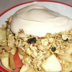 Raw Apple Crisp