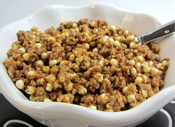 Wholetarian Crumbles Ice Cream Topping