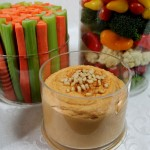 Traditional Red Pepper Hummus