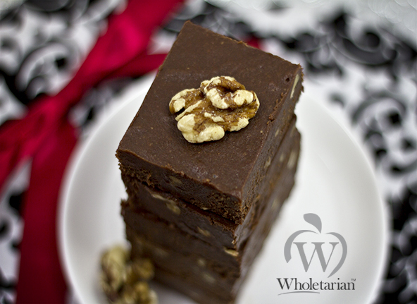 Wholetarian Fudge recipe