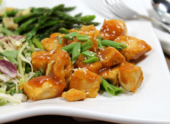 Orange Mango Chicken Recipe