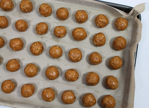 healthy Peanut butter bon bon recipe