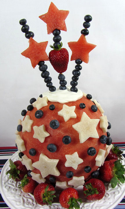 Wholetarian Watermelon Cake