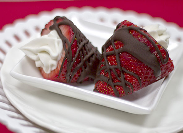 Cream Filled Strawberries Recipe