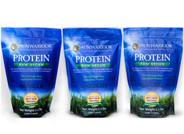 Wholetarian Approved Sunwarrior Protein Powder
