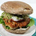 Green Chili Chicken Burger