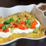 Enchiladas with Super Healthy Cream of Mushroom Sauce