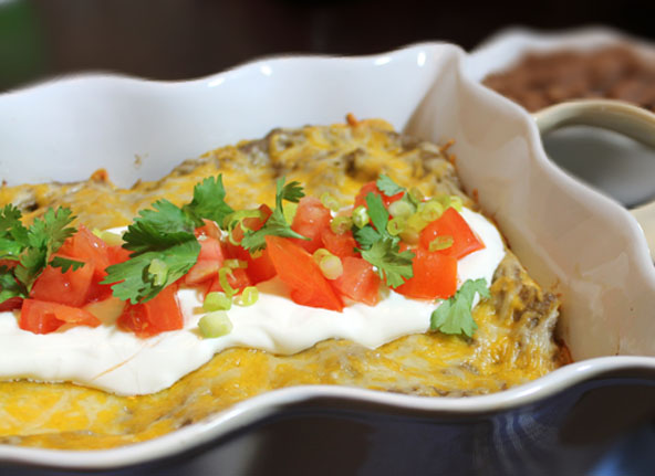 Enchiladas with cream of mushroom soup recipe